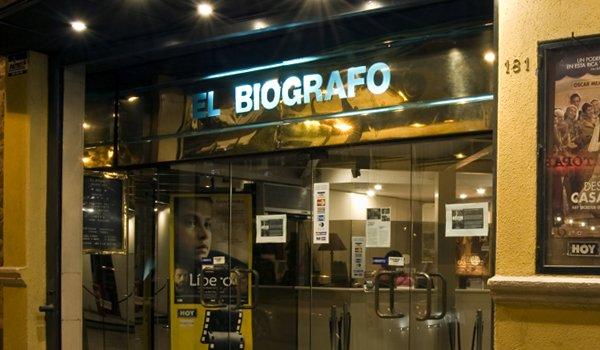 Imagen del Cine El Biografo. Santiago-Chile