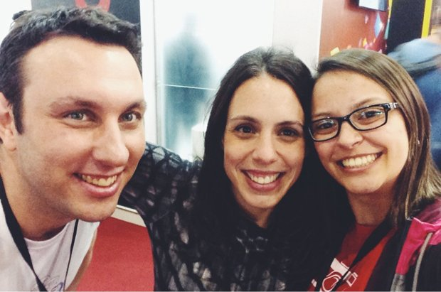 Rafael, Fernanda Petelinkar e Ana