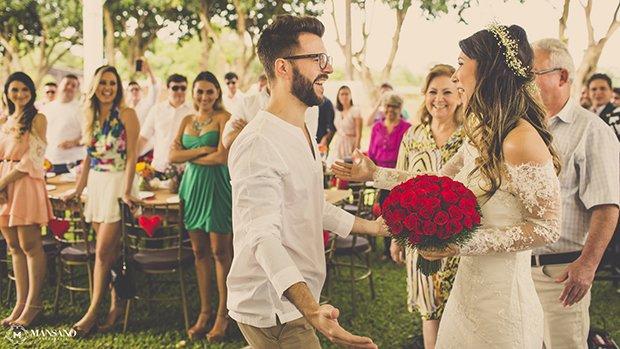 Casamento surpresa.