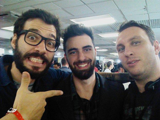 Rafael Fontana, Rafael Vaz e Neto.