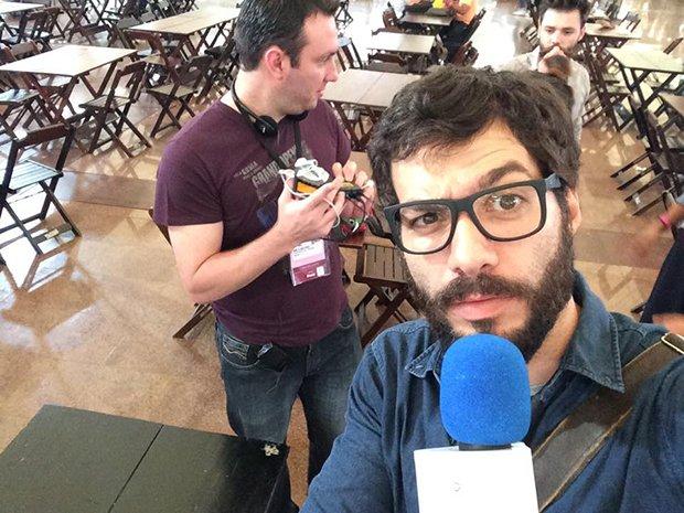 Rafael Fontana, novo entrevistador do programa.