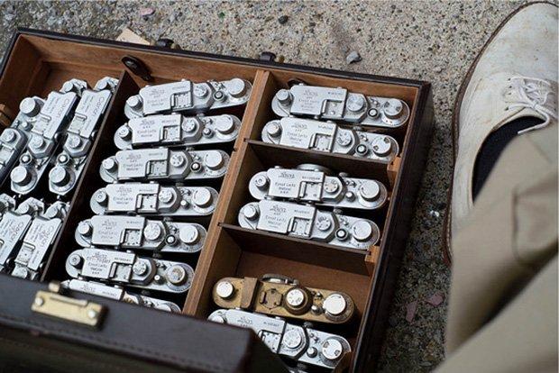 William Eggleston's Cameras